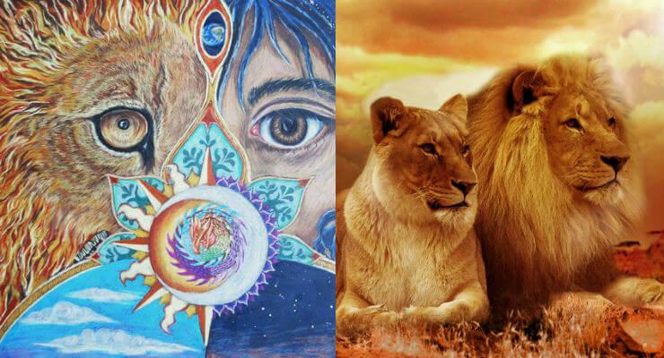 significado espiritual del leon