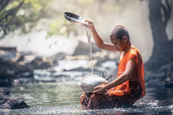 que significado espiritual tiene el agua