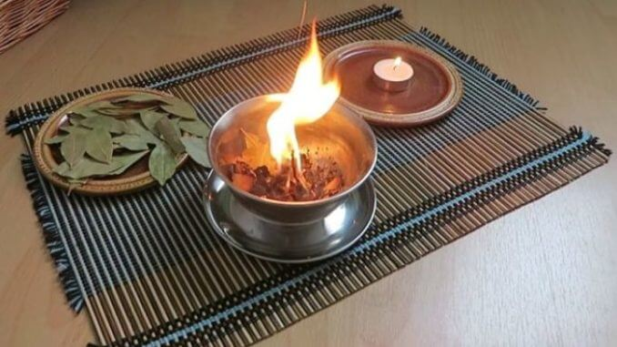 quemar laurel