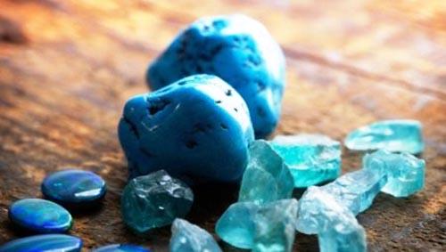 piedras azules significado
